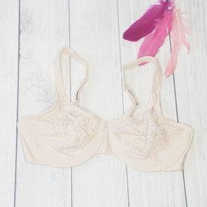 Size 40C | Olga Underwire Bra in Cream Color